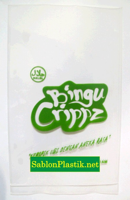 Sablon Plastik Keripik Bingu Sengkotek Kaltim