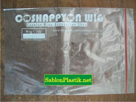 Sablon Plastik Klip Jakarta Pesanan Coshappyon Wig