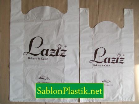 Sablon Plastik Kresek Batam pesanan Laziz Cake & Bakery