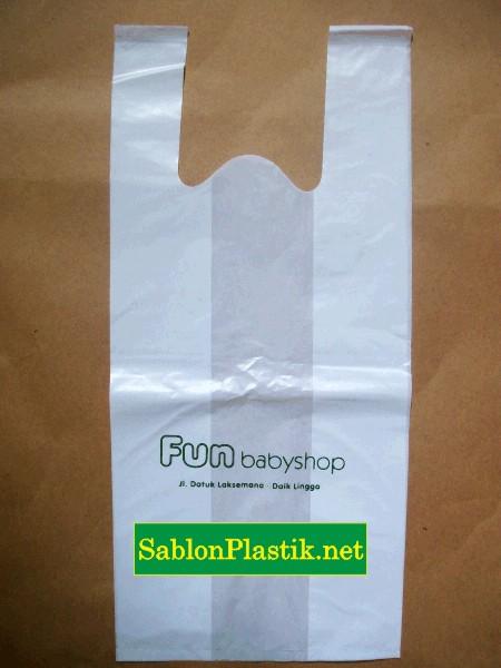 Sablon Plastik Kresek Fun Baby Shop di Daik Lingga Kepulauan Riau 3