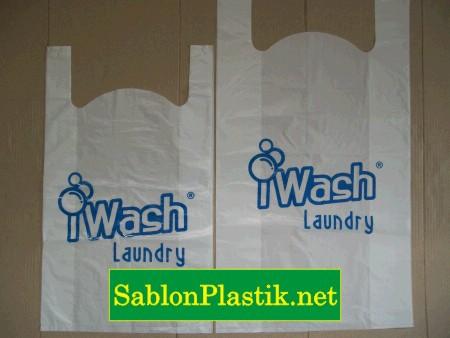 Sablon Plastik Kresek Jakarta pesanan I Wash Laundry