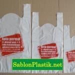 Sablon Plastik Kresek Manado pesanan Kota Permai