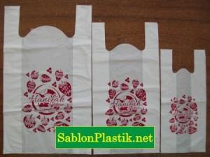 Sablon Plastik Kresek Palembang pesanan Hanifah Collection