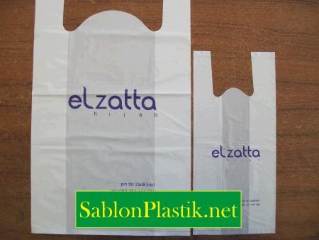 Sablon Plastik Kresek Sekadau pesanan El zatta Hijab