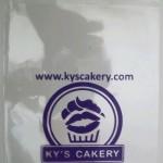 Sablon Plastik Yogyakarta pesanan Ky's Bakery