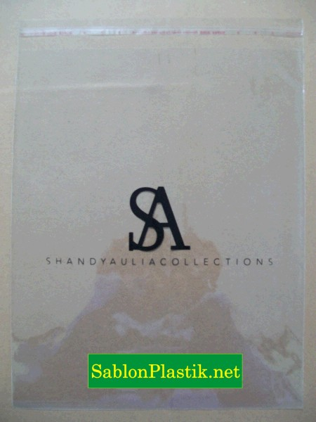 Sablon Plastik OPP Jakarta pesanan SA Collection