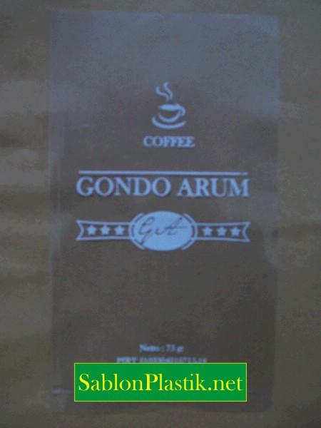 Sablon Plastik PP Banjarnegara pesanan Gondo Arum