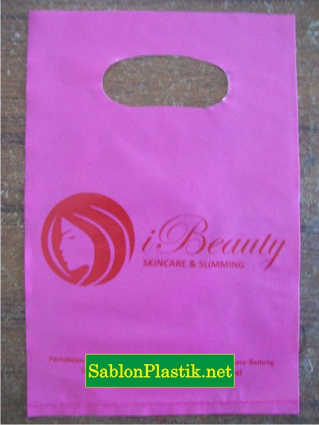 Sablon Plastik Plong Bali Pesanan I Beauty