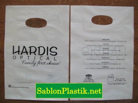 Sablon Plastik Plong Bali pesanan Hardis Optical 2