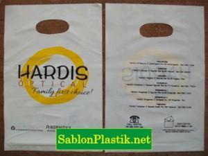 Sablon Plastik Plong Bali pesanan Hardis Optical