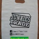 Sablon Plastik Plong Bali pesanan Jankies
