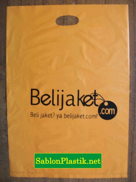 Sablon Plastik Plong Cengkareng pesanan Belijaket.com
