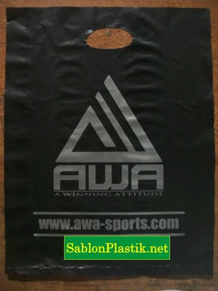 Sablon Plastik Plong Jakarta pesanan AWA-Sports.com