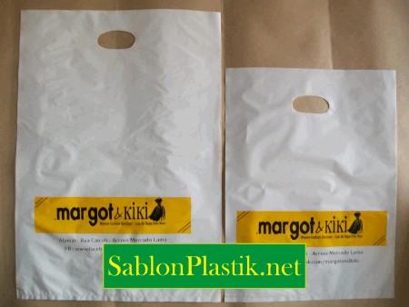 Sablon Plastik Plong Jakarta pesanan Margot & Kiki