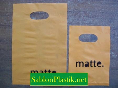 Sablon Plastik Plong Jogja pesanan Matte.