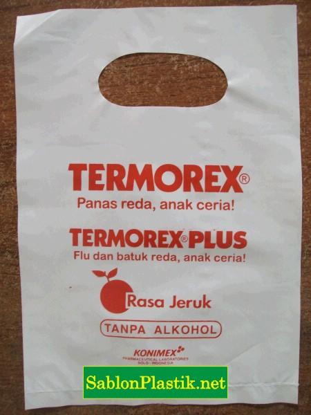 Sablon Plastik Plong Solo pesanan Konimex 2