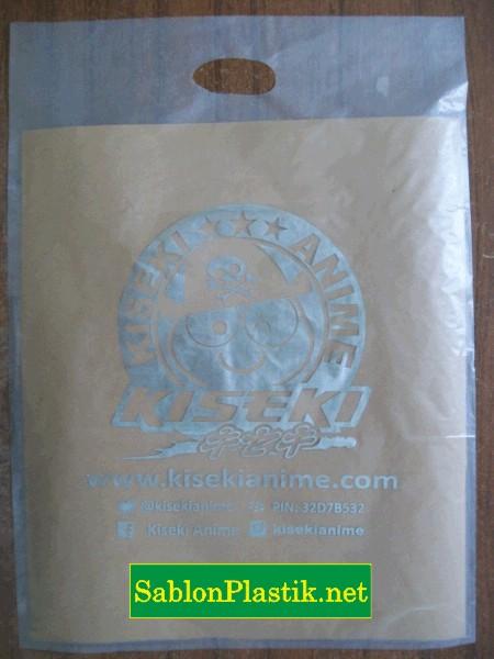 Sablon Plastik Plong Transparan Solo pesanan Kiseki Anime