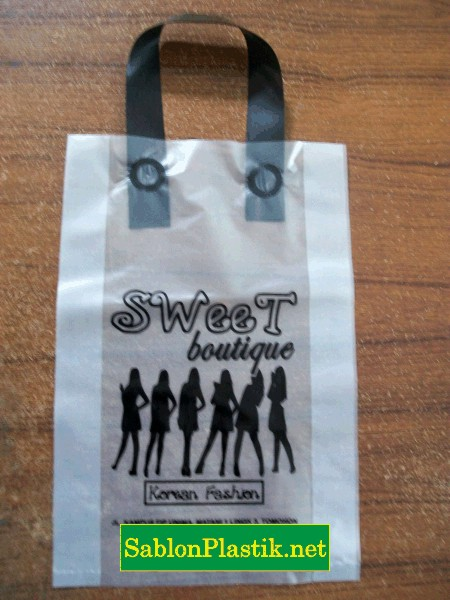 Sablon Plastik Sweet Butique Tomohon Manado