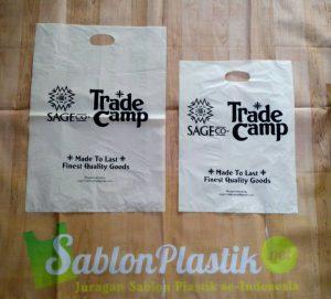 Sablon Plastik Plong Sage.co dari Jakarta Pusat
