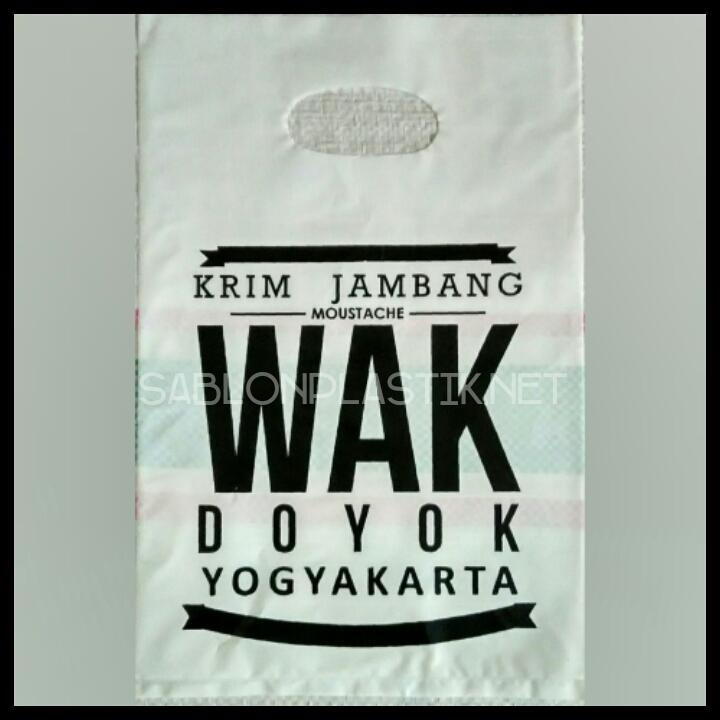 Plastik Plong Yogyakarta pesanan Wak Doyok