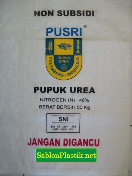 Sablon Karung Kalimantan Pesanan Pusri