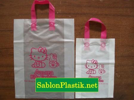 Sablon Plastik Cangklong Batam pesanan Amora Kidz Fashion