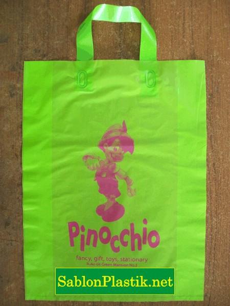 Sablon Plastik Cangklong Bekasi pesanan Toko Pinocchio
