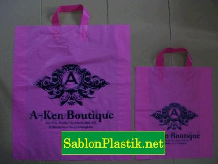 Sablon Plastik Cangklong Bengkulu pesanan Aken Boutique