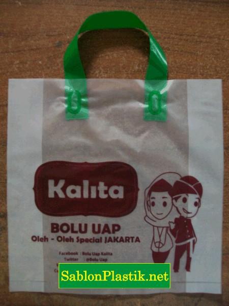 Sablon Plastik Cangklong Jakarta pesanan Kalita
