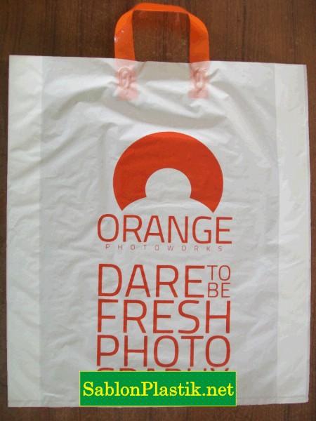 Sablon Plastik Cangklong Samarinda pesanan Orange Photoworks