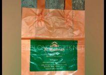 Sablon Plastik Cangklong Yogyakarta pesanan Al - Madinah