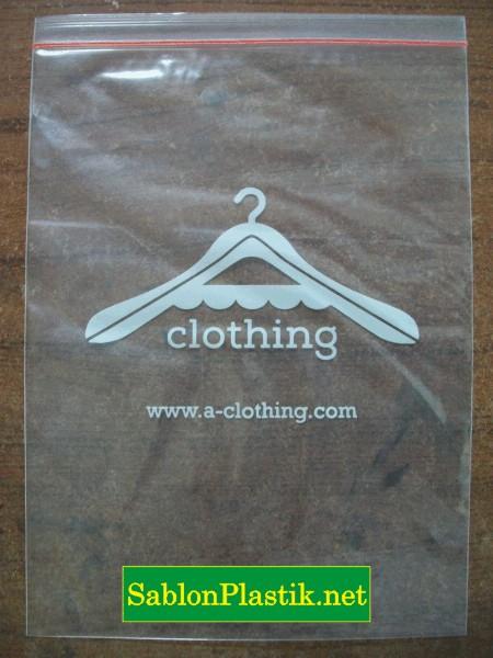 Sablon Plastik Klip Jakarta pesanan Clothing