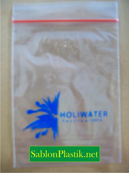 Sablon Plastik Klip Jakarta pesanan Holiwater Festival