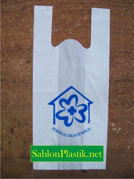 Sablon Plastik Kresek Banjarbaru pesanan Semoga Lekas Sembuh