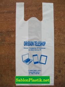 Sablon Plastik Kresek Tanjung Balai Karimun pesanan Orisson Teleshop