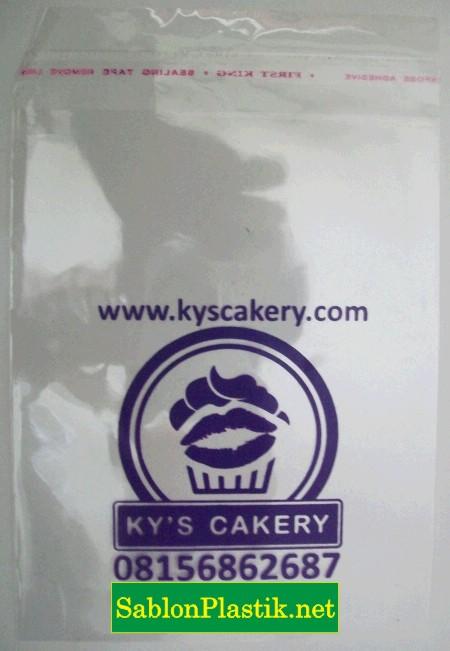 Sablon Plastik Ky's Bakery Yogyakarta