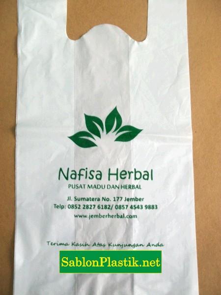 Sablon Plastik Nafisa Herbal Jember