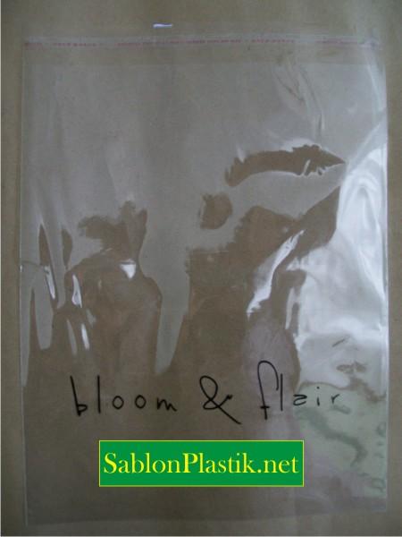 Sablon Plastik OPP Jakarta pesanan Bloom & Flair