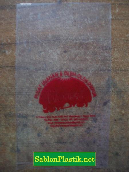 Sablon Plastik PP 0.1mm Papua pesanan Toko Honai