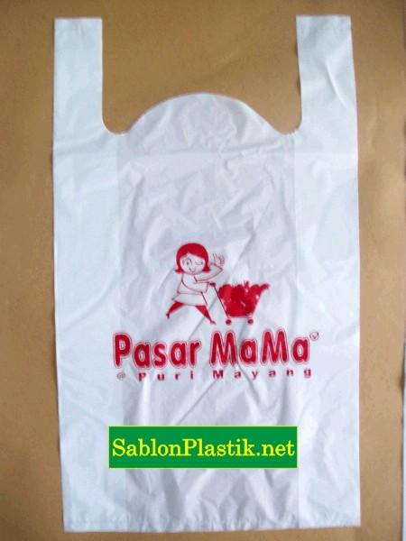 Sablon Plastik Pasar Mama Jambi