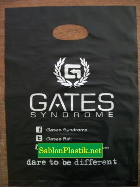Sablon Plastik Plong Bali Pesanan Gates