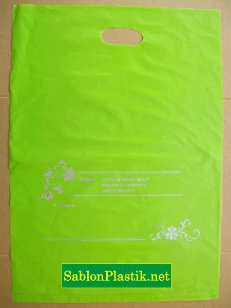 Sablon Plastik Plong Jogja pesanan House Of Ummu Yaqut