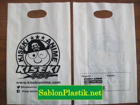 Sablon Plastik Plong Lipat Solo pesanan Kiseki Anime