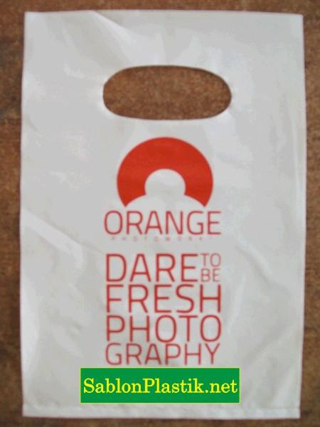 Sablon Plastik Plong Samarinda pesanan Orange Photoworks