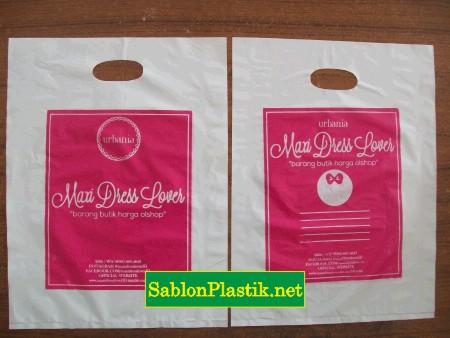 Sablon Plastik Plong Semarang pesanan Maxi Dress Lovers