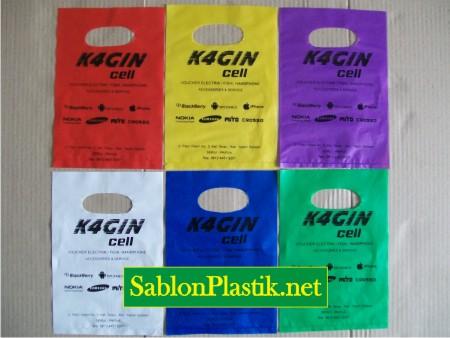Sablon Plastik Plong Serui pesanan Kagin Cell