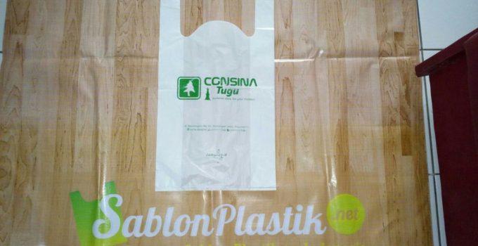 Sablon Plastik Kresek Yogyakarta untuk Consina Tugu