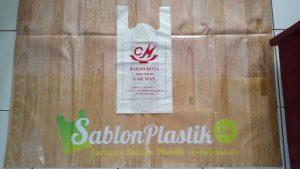 Sablon Plastik Kresek Purwokerto pesanan Bakso Kota Cak Man