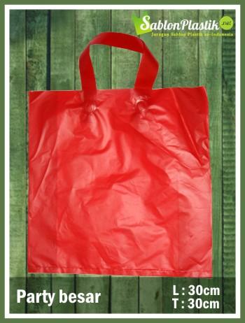 sablon plastik shopping bag